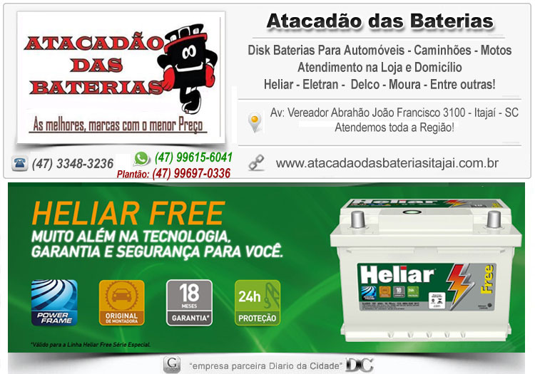 loja de bateria Itajaí ac delco heliar cral moura bosch reifor herbo garantia oferta promoção barata disk tele entrega 36 ah 40 amperes 45 48 50 55 60 65 100 80 70 amper zetta