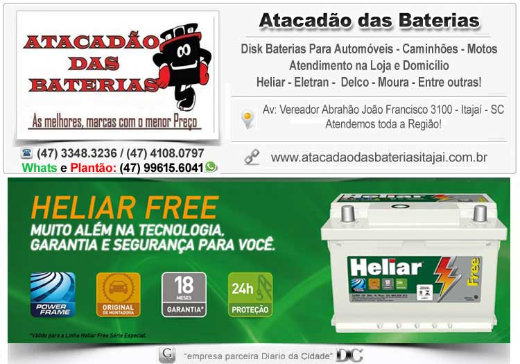 Sos Baterias em Balneário Camboriú SC